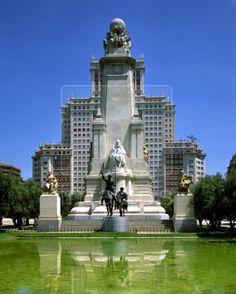 Spain/Madrid: Plaza de Espana