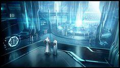 Concept Art World » Tron: Evolution Concept Art by Daryl Mandryk