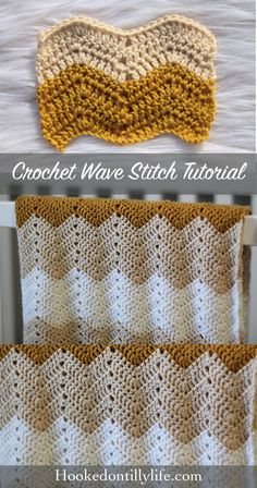 Wave Stitch Tutorial Crochet Stitch free crochet pattern wave stitch chevron tutorial how to crochet learn to crochet unisex baby blanket easy do it youself baby shower The post Wave Stitch Tutorial Crochet Stitch appeared first on Crochet ideas. Chevrons Au Crochet, Chevron Crochet Patterns, Knitting Patterns, Crochet Ideas, Crochet Wave Pattern, Afghan Patterns, Crochet Projects, Easy Crochet Blanket, Crochet For Beginners Blanket