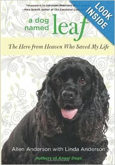 I'm asking that if you read and like A DOG NAMED LEAF and you are so inclined, let others know about this inspirational and uplifting story by writing a review on Amazon.com or on your FB or other social media pages.