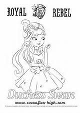 Ever After High Legacy Day Coloring Page