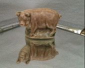 Wade Whimsie: Pig Figurine -1975