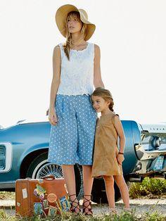 134-052016-B, burda style, nähen, DIY, Schnittmuster, Kinderkleid, Leder