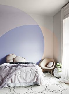 Bree Leech & Heather Nette King for Dulux Colour Forecast 2015 photographer Lisa Cohen Interior Pastel, Bedroom Decor, Wall Decor, Bedroom Wall, Budget Bedroom, Bedroom Colors, Wall Art, Bedroom Apartment, Interior And Exterior