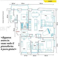 #ClippedOnIssuu from Casafacile sett2017 Floor Plans, Floor Plan Drawing, House Floor Plans