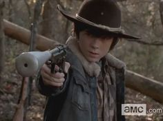 THE WALKING DEAD PHOTOS | The Walking Dead Finale: Carl's Actions To Have Season Four ...
