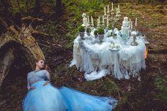 Fairy garden desserttable project   www.marangona.hu Wedding clothes by Agota Nagy Girls Dresses, Flower Girl Dresses, Dessert Tables, Shots, Fairy, Wedding Dresses, Garden, Flowers, Clothes