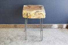 Reclaimed Poplar Block Table by MtHoodWoodWorks on Etsy