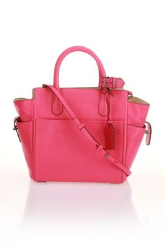Reed Krakoff Mini Atlantique Handbag In Fuchsia - Beyond the Rack ( love the colour, not the shape so much)
