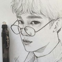 Witchy Wallpaper, Exo Fan Art, Kpop Drawings, Aesthetic Drawing, Wow Art, Realistic Drawings, Kpop Fanart, Art Model, Anime Art Girl