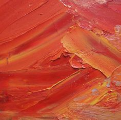 Texture - close-up of an oil painting by Stella Downer Fine Art's Ashley Frost