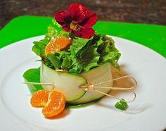 Zucchini Salad bowl.