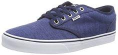 Vans Atwood, Herren Sneakers, Blau (distress/dress Blue/white), 40.5 EU - http://on-line-kaufen.de/vans/40-5-eu-vans-herren-atwood-sneaker-5