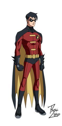 Tim Drake - OYL Robin by *phil-cho on deviantART