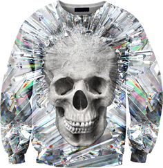 Image of Crystal skull sweater