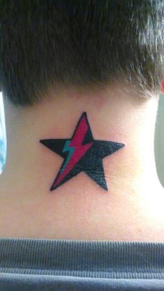 My David Bowie tattoo done by tattoo artist Bryant Lowman.