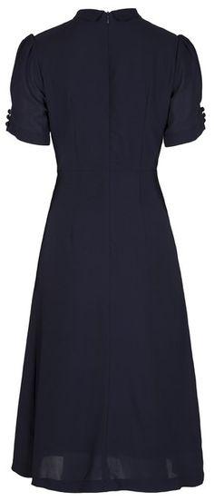 Lindy Bop 'Amelia' Vintage WW2 1940's Landgirl Tea Dress: Amazon.co.uk: Clothing