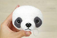 crocheted panda bear pattern