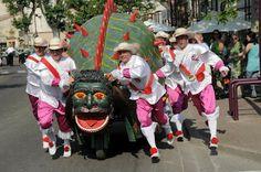 ShukerNature: TERROR OF THE TARASQUE!   Tarasque Parade