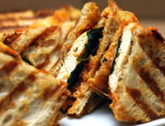 chicken parmesan panini » Table for Two