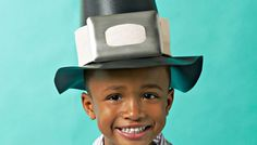Get the little pilgrims together for a Thanksgiving crafting project. Make two historical hats out of shelf liner to honor the first Thanksgiving.
