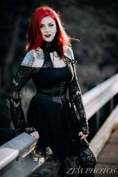Model: @Audrey Tate Photo: Zeke Mudez Welcome to Gothic and Amazing  www.gothicandamazing.com