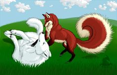 Playtime by VixenDra on DeviantArt Cartoon Wolf, Anime Animals, Viking Tattoos, Furry Art, Mythical Creatures, Dreamworks, Happy Valentines Day, Character Art, Original Art