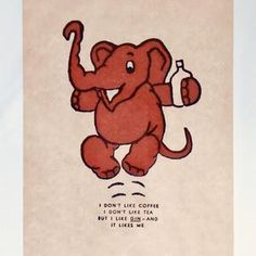 a24dfbda268b2 337 Best Vintage Pink Elephants images in 2019