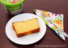 Pound Cake with Ricotta Cheese - My Culinary Adventures