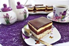 "Desert prajitura ""O noapte la Venetia"" - Galerie foto Sweets Recipes, My Recipes, Cooking Recipes, Favorite Recipes, Romanian Desserts, Romanian Food, Romanian Recipes, Good Food, Yummy Food"