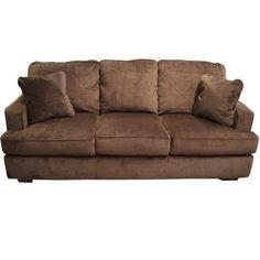 Mayo Impressive Umber Loveseat Sofa Couch Loveseat Gallery