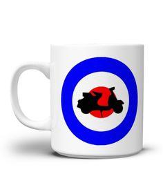 NO 4 MOD MUG COLLECTION scoot target  #gift #idea #shirt #image #music #guitar #sing #art #mugs