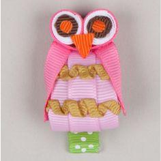 Owl Hair Clip - $7.00