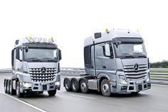 Mercedes Actros SLT & Arcos SLT