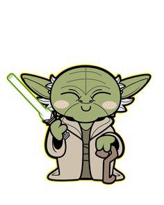 Star Wars Kawaii Saga - Baby Star Wars - Ideas of Baby Star Wars - Mestre Yoda Star Wars Meme, Star Wars Quotes, Lego Do Star Wars, Lego Star, Star Wars Baby, Star Wars Desenho, Cadeau Star Wars, Meister Yoda, Yoda Drawing