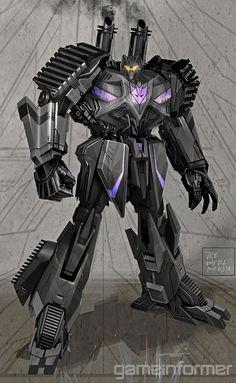 Transformers Fall of Cybertron Brawl