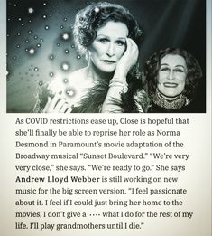Paramount Movies, Glenn Close, Still Working, Ready To Go, Musicals, Sayings, Movie Posters, Lyrics, Film Poster