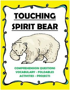analysis of touching spirit bear When all my dreams are crimes i can't stand facing them now who will come to wash away my sins - my empty room (queensryche) as a piece of adolescent literature, touching spirit bear, by ben mikaelsen, hits upon.