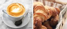 coffee-croissant by {this is glamorous}, via Flickr