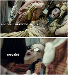 Royals. HAHAHAHAHAHA!! I hate this song, but this is the most perfect thing ever!