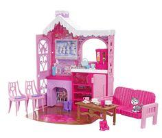 Barbie Ski Chalet and 3 Dolls: Amazon.co.uk: Toys & Games