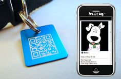 Awesome idea for doggie tags!