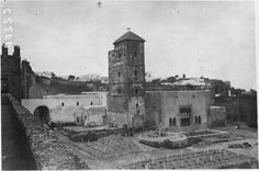 Medersa des Oudaïas  La Medersa des Oudaïas : vue d'ensemble  1916.05.19