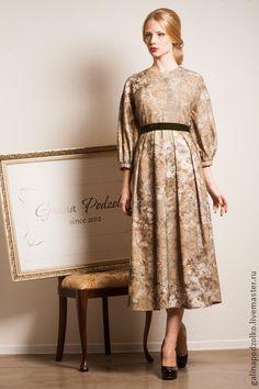 Платье ручной работы Galina Podzolko. Handmade. $625