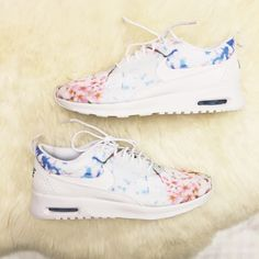 Nike Cherry Blossom Print Air Max Thea Sneakers •The Nike Air Max Thea Women's Shoe is equipped with premium lightweight cushioning and a sleek, low-cut profile for lasting comfort and understated style. Cherry blossom print. •Women's size 9, these run narrow and would be best for a 8.5 or narrow 9 •New in box. (no lid) •NO TRADES/PAYPAL/MERC/VINTED/NONSENSE. •PRICE IS FIRM. Nike Shoes Sneakers