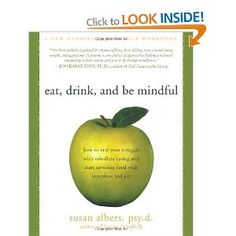 Eat, Drink, and Be Mindful is a new tool for dealing with the age-old problem of mindless overeating. The author currently uses this workbook with clients in her Mindful Eating Support Groups. The book is a collection of more than seventy worksheets she has created. The workbook is organized around the seven skills of mindful-eater-awareness: observing, being in-the-moment, acceptance, letting go, non-judgment, and mindfulness of the environment.