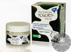 KREM NA NOC Bulgarian Yogurt 50ml Bulgarian Yogurt, Hyaluronic Acid, Drink Sleeves, Serum