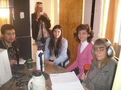 iEARN Adobe Youth Voices Media Festival participant on Radio Serrana in Argentina