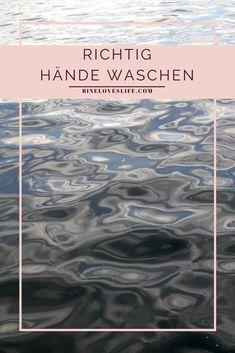 Handhygiene - gilt als Infektionsschutz und war schon immer so wichtig! Kind, Tricks, German, Inspiration, Beauty, Best Skincare Products, Parents, Things To Do, Deutsch