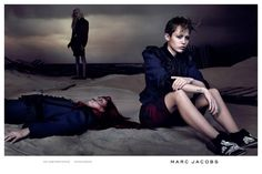 Miley Cyrus is Moody and Glam in The New Marc Jacobs Ad Campaign